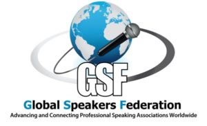 Logo der Global Speaker Federation